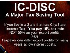IC-DISC a major tax saving tool